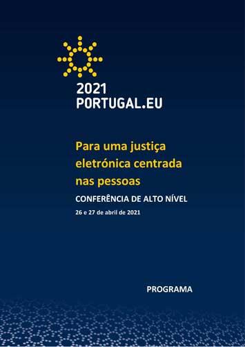 Conferência «Para uma justiça eletrónica centrada nas pessoas»